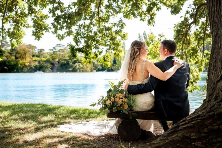 Brautpaarshooting, Schlosspark Laxenburg, Hochzeitsfotograf, Thomas MAGYAR | Fotodesign