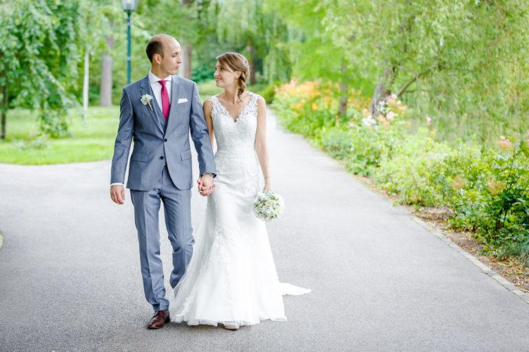 Brautpaarshooting, Doblhoffpark, Baden bei Wien, Hochzeitsfotograf, Thomas MAGYAR | Fotodesign